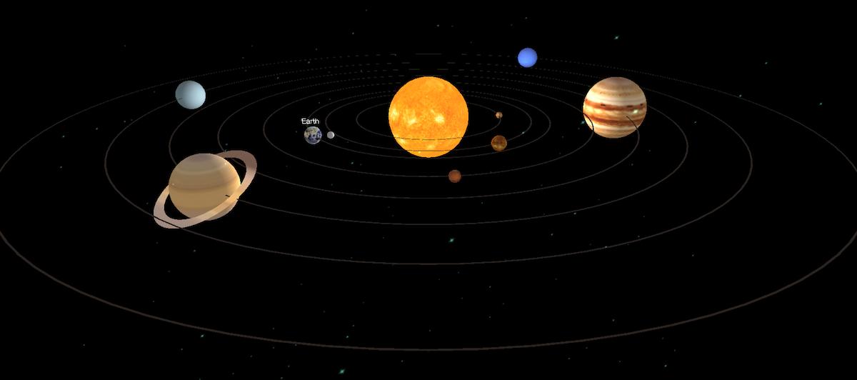 solar system three js - photo #5